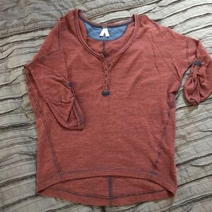 Free People knit shirt